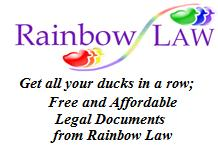 Rainbow Law, Free and Affordable Legal Documents for Gay men and Lesbians